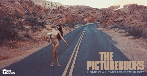 The Picturbooks - Home Is A Heartache Tour 2017 - Barcelona