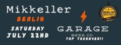 Garage Beer Co. Tap Takeover
