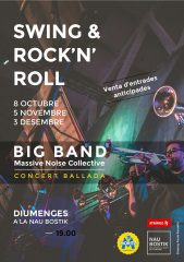 Concert rock'n'roll big band Massive Noise Collective