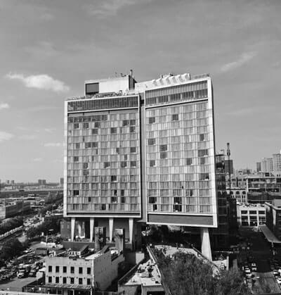 The Standar Hotel, en el Meatpacking District de Nueva York