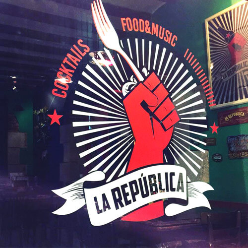 La República Barcelona resto bar bbq craft beer