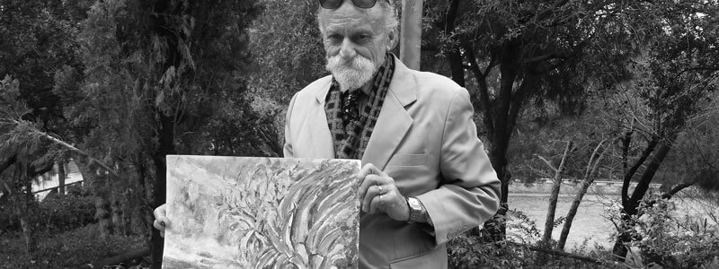 Meeting the last impressionist in Sant Andreu